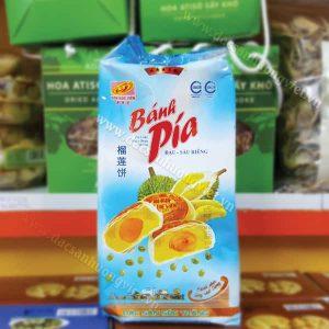 Bánh pía đậu xanh sầu riêng trứng 5 sao 600g