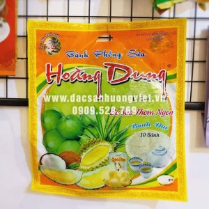 Bánh tráng sữa sầu riêng Hoàng Dung 410g
