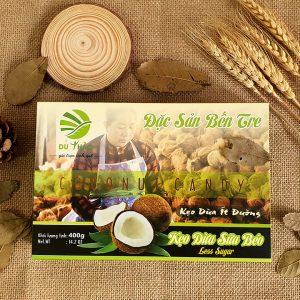 Kẹo dừa nguyên chất Du Thảo 400g