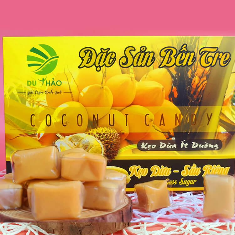 Kẹo dừa sầu riêng Du Thảo 400g
