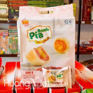 Bánh pía kim sa đậu đỏ Tân Huê Viên 12 bánh